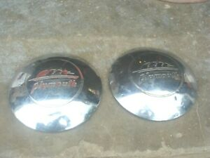 Plymouth Hubcaps 10 Dog Dish 1938 1939 1940 1941 1942 1946 1947 1948 1949 1950