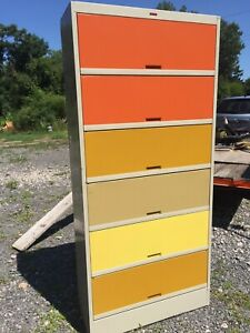 Tab Mid Century Modern Lateral File Cabinet 78 X 36 X 14 Exc