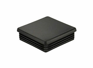 Universal Class Iii And Class Iv 2 Black Hitch Receiver Cover Plug Cap 2 Inch