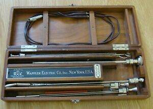 Antique Wappler Cystoscope Surgical Instruments W Case Old Medical Urology