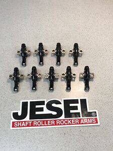 9 New Nascar Dlc Coated Jesel Steel Rocker Arms 1 70 Ratio 1 600 Pivot Length