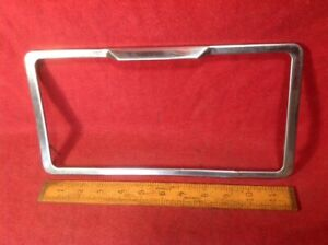 Corvette Chevelle Nova Impala Corvair Camaro Gm License Plate Frame