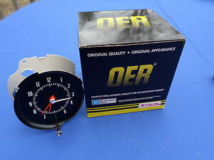New 1971 72chevelle Ss Monte Carlo In dash Clock Oer Parts 3973633w Gm Licensed