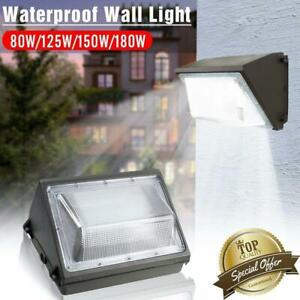 LED Wall Pack 80W125W150W180W 5000K Commercial  Industrial Light Fixture $55.88