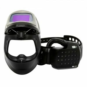 3m Speedglas 9100 Mp Air Welding Safety Helmet With The 3m Adflo Papr New