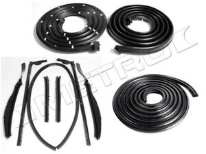 1961 1962 Cadillac Eldorado Convertible Weatherstrip Seal Kit 10pc
