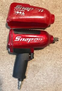 Snap On Mg725 1 2 Super Duty Impact Wrench In Rare Metallic Red Nice