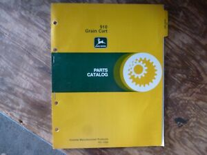 John Deere 910 Grain Cart Parts Catalog Manual Book Original Pc 1566