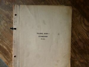 John Deere 200a h 220 220a Standard Disk Tiller Parts Catalog Manual Pc 255
