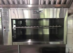 Vulcan Cheese Melter 36 Electric Perfect Condition Manufacturer Warranty