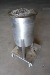 20 Gallon Stainless Steel Mixing Tank