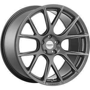 20x10 5 Gray Wheel Vossen Vfs6 5x120 27