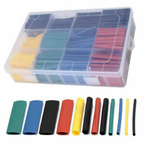 530pcs 2 1 Heat Shrink Tube Tubing Sleeving Wrap Wire Cable Insulated Assorted