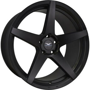 20x9 Black Wheel Fathom Stern 5x120 25
