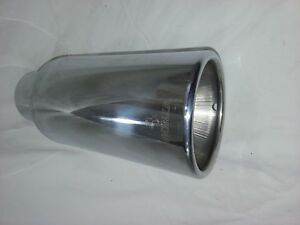 Monza Accessory Exhaust Tip New Stainless Dw371