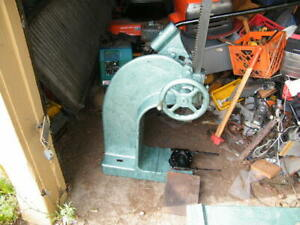 12 Ton Famco 4c Arbor Press With Base Compound Ratchet No Shipping