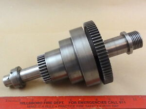 Rare Nice Original South Bend 9 420 z Metal Lathe Headstock Spindle Assembly