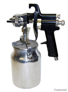 High Pressure Spray Gun Conventional Paint Guns Siphon Feed Air Tools
