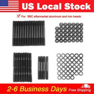 Usa Sbc Head Stud Kit For Alum Or Iron Heads Sbc Head Studs 1525 stud 279 1001