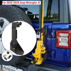 Off road High Lift Hood Jack Mount Tailgate Bracket For Jeep Wrangler Jl 2018