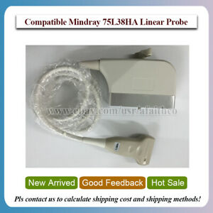 Compatible Mindray Dp 9900plus 75l38ha High Frequency Linear Transducer Probe