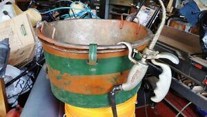 Ridgid 318 Oil Bucket With Oil Gun Oiler For 300 700 Pipe Threader D512 1 Vtg