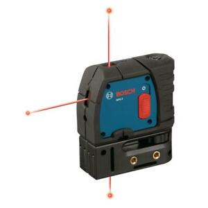Bosch Self Leveling 3 Point Laser Level 100 Ft With Mounting Strap Belt Pouch