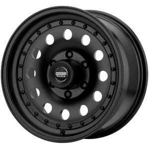 4 american Racing Ar62 Outlaw Ii 15x7 5x4 75 50mm Black Wheels Rims 15 Inch