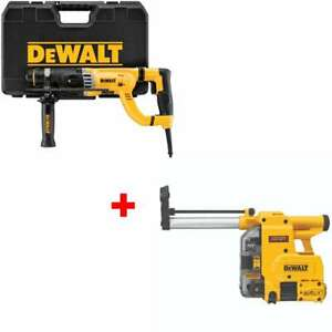 Dewalt D25263k 1 1 8 D handle Sds Rotary Hammer With Free Dust Extractor