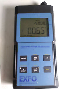 Epm 53a Optical Power Meter Fiber Optic Exfo Opm Testing Equipment W cover ori