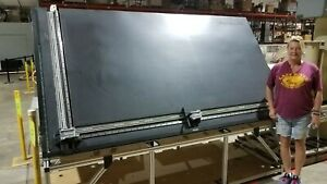 Protable Cab Drafting Table Two Axis Measuring System For Glass Wood Tiles