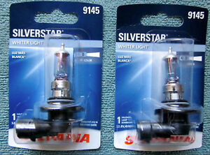 Sylvania Silverstar 9145 2 Bulb Set New And Sealed