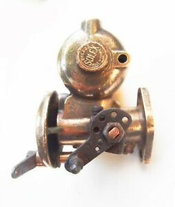 1920 S Solex 26mh Brass Carburetor With Manifold Adapter