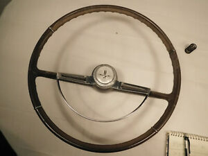 1964 Chevrolet Corvair Monza Tan Steering Wheel And Horn