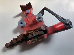 Ridgid Bc 210 Top screw Bench Chain Vise 1 8 2 1 2