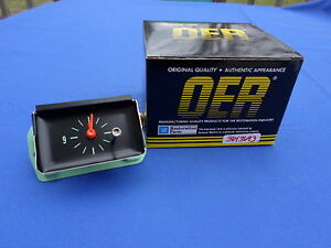 New 1964 Impala Belair Biscayne In dash Clock Oer Parts 3843693 Gm Licensed