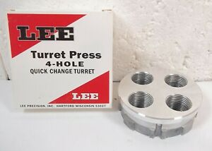LEE Turret Press 4-Hole Quick Change Reloading Equipment