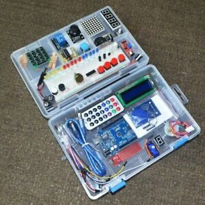 Newest Rfid Starter Kit Arduino Uno R3 Upgraded Learning Suite Retailer Box