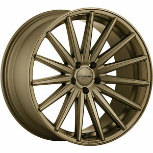 4 20x9 Bronze Wheel Vossen Vfs2 5x112 32