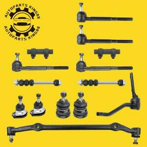 14pc Complete Front Suspension Kit For 1978 1983 Chevy Malibu Pontiac Oldsmobile