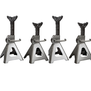 Set Of Four 4 3 Ton Steel Jack Stands Auto Truck Repair Shop Garage New