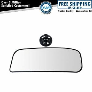 Exterior Side View Door Mirror Lower Convex Glass Lh For Nissan Nv Van Non Tow