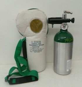 Life Corp Softpac Emergency Oxygen Unit 0 To 25 Lpm Model Life 2 025 2