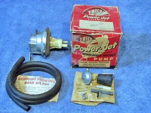 1950 1959 Trico Accessory Windshield Washer Pump Kit Aws 15 Nos