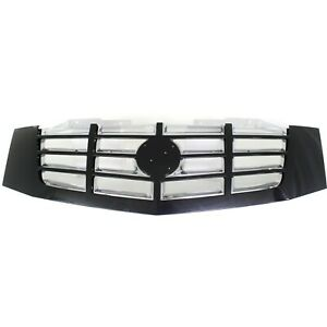 Grille For 2007 2014 Cadillac Escalade Escalade Esv Black Shell W Chrome Insert