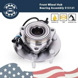 Front Wheel Bearing Hub Assembly Gmc Sierra Chevy Silverado 1500 4x4 6 Lug