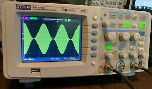 Atten Ads1102c 100mhz 500msa s 4kpt 2chan Oscilloscope With 2x 100mhz Probes