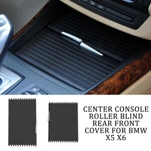 Set Center Console Roller Blind Cover Assembly For Bmw X5 X6 E70 E71 2007 14