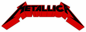 Metallica Sticker Decal 6 X 2