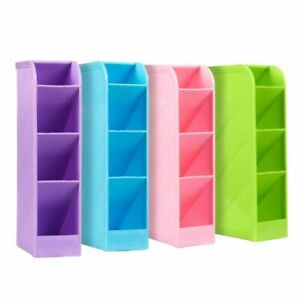 School Desk Pen Caddy Organizer 4 Piece Set School Equipment Storage Holder